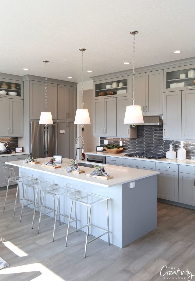 Grey Kitchen Cabinets Houzz Kitchen Renovation Painted Gray Cabinets Diy Kitchen Cabinets