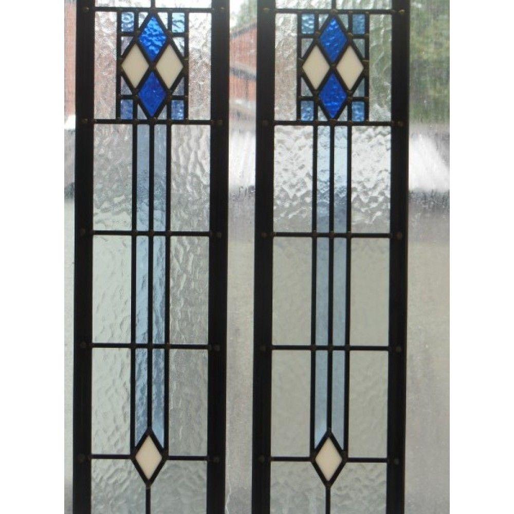 art deco stained glass edwardian original art deco. Black Bedroom Furniture Sets. Home Design Ideas