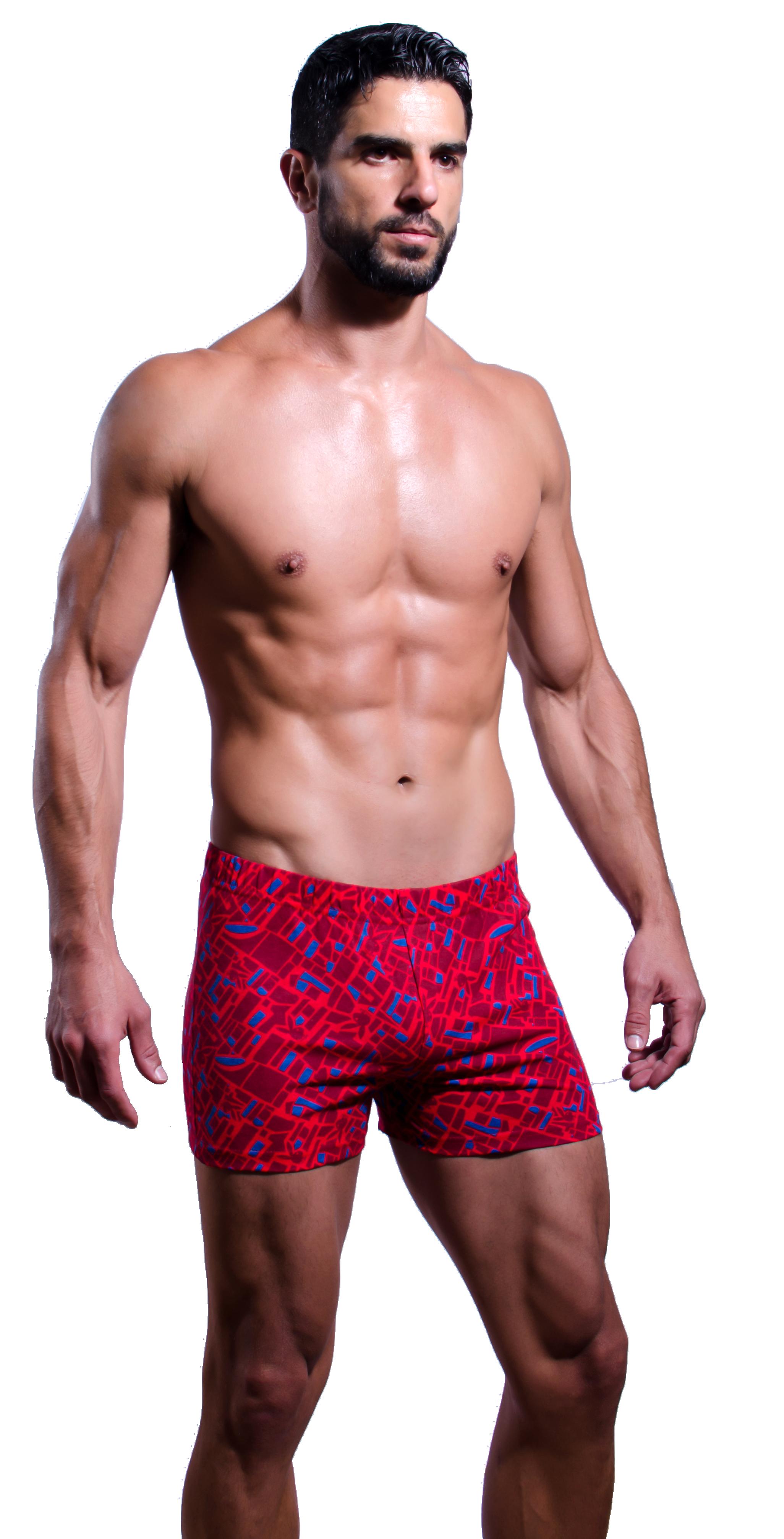 2168f3c221 Boxer estampado 100% algodón. Estampados varios Bolsa C/3 | Playboy ...