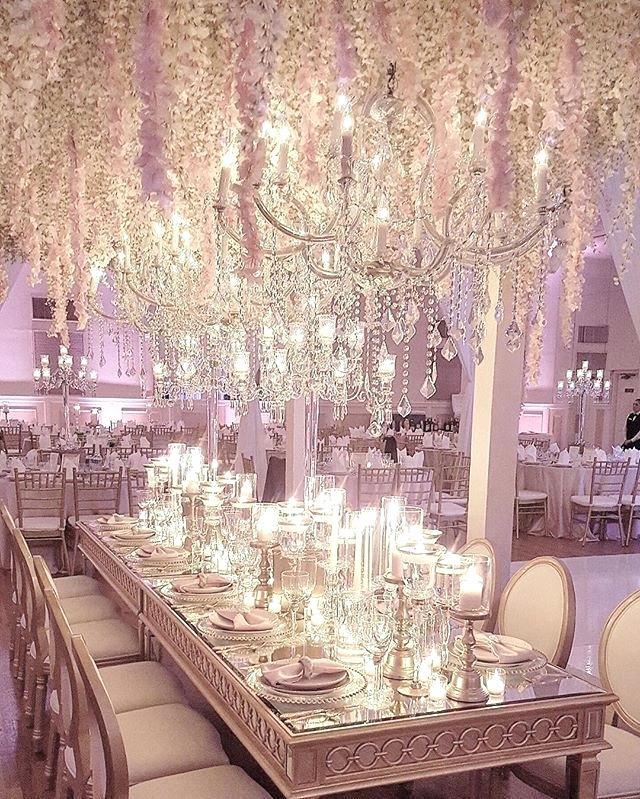 Silver Wedding Reception Room Images