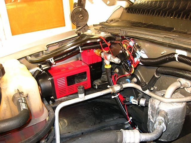How To Install An Onboard Air Compressor On Your Tow Rig Air Compressor Compressor Installation