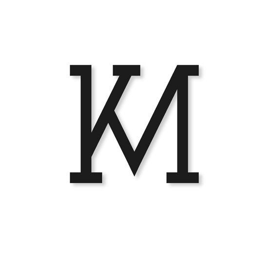 Km Logo Jpg 550 550 Logo Design Art Lettering Design Logo