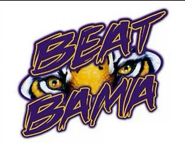 Lsu Beat Bama Lsu Lsu Vs Bama Missouri Tigers Football