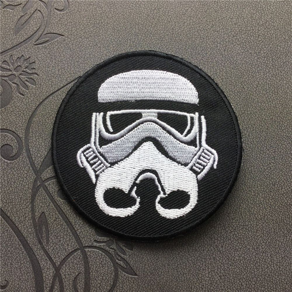 Star Wars Imperial Stormtrooper Corps Patch Embroidered Iron On Patches sew on patches