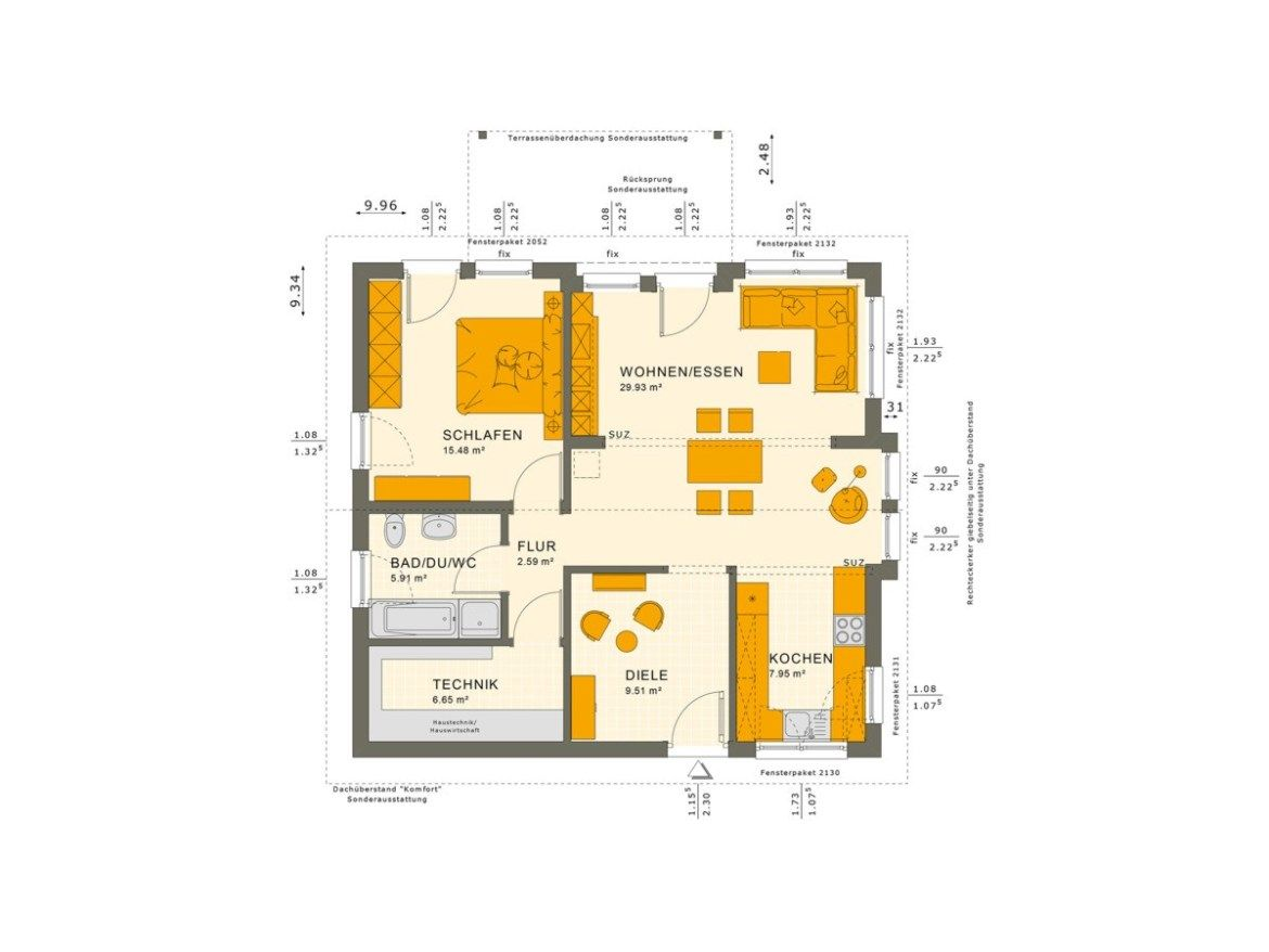 One Story Bungalow Design Plan 9x10 Home Planssearch Bungalow Design Bungalow Haus