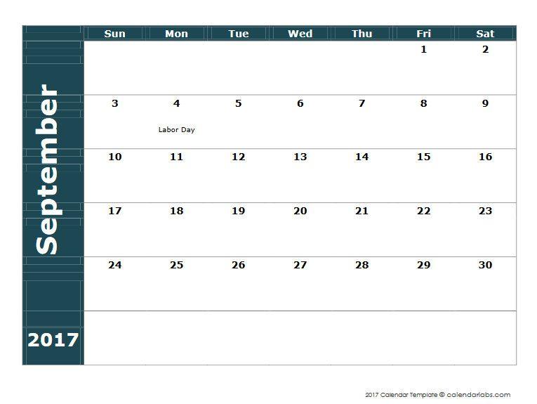 Calendario 2017 u2013 Calendarios 2017 para Imprimir, Calendarios Word - agenda word