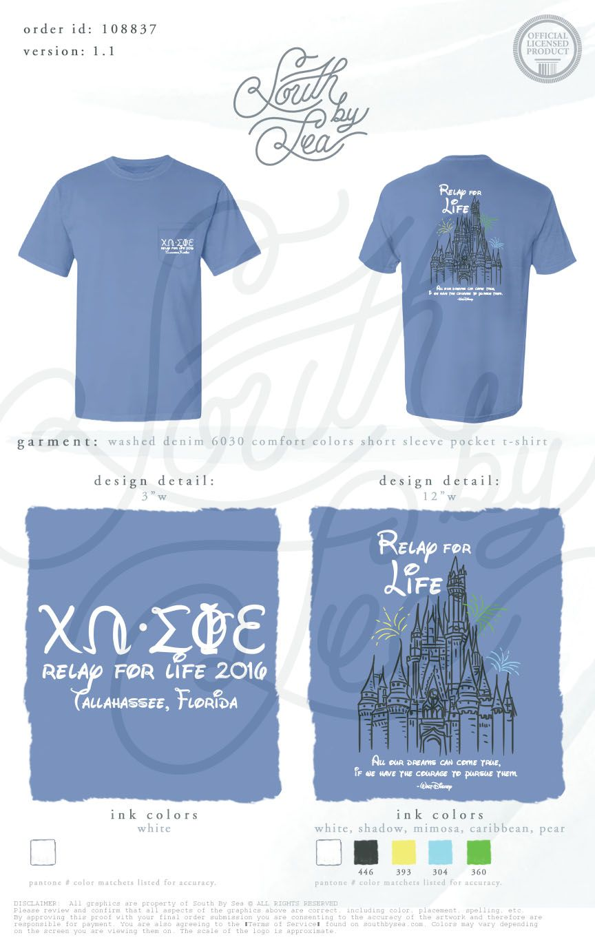 99a142e1 Chi Omega | Chi O | Relay for Life | Disney Theme | South by Sea ...