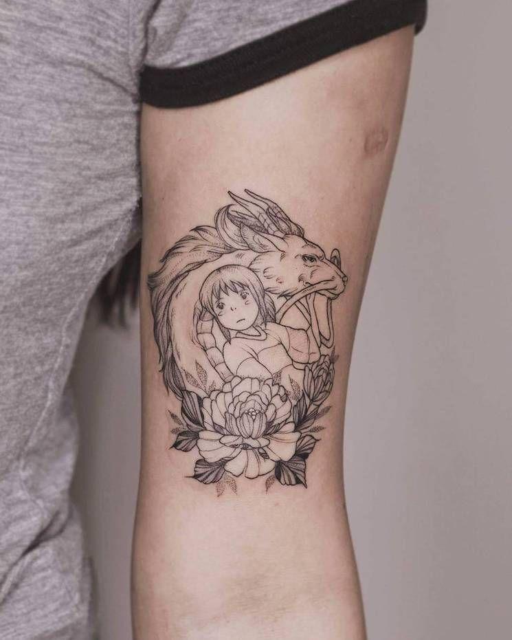 22 Black Fine Line Tattoos by Rising Star Phoebe Hunter