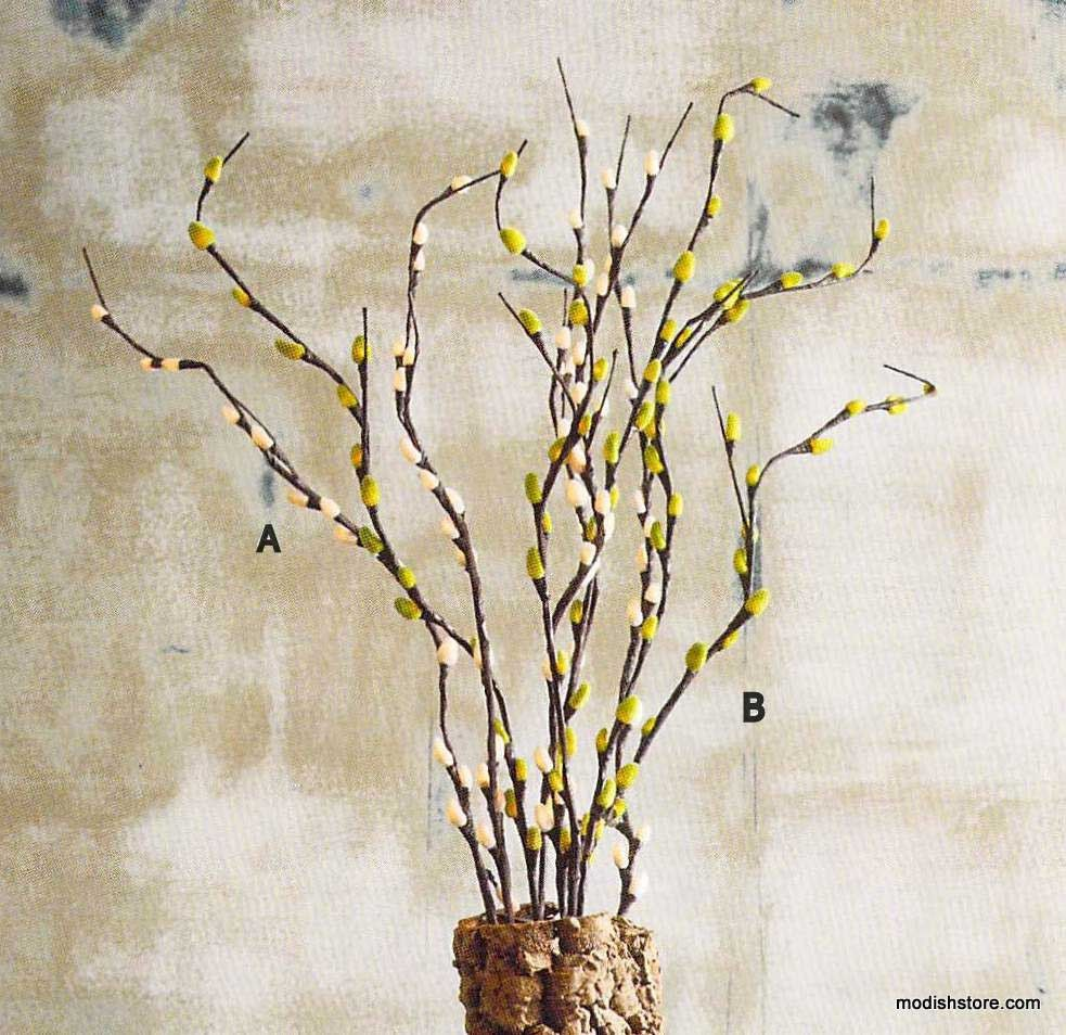 Roost Pussy Willow Lighted Branches * Next Day Shipping * – Modish Store
