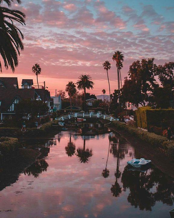 Venice Beach Canals by Debodoes | California Feelings