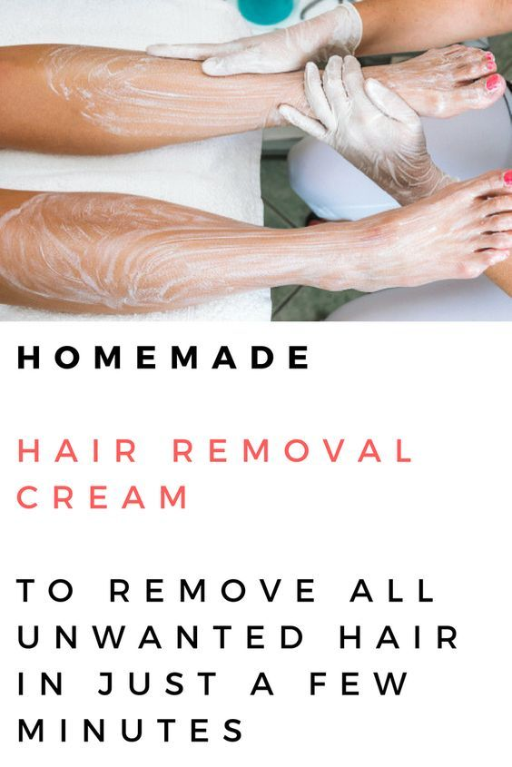 Homemade Hair Removal Cream To Remove All Unwanted Hair In