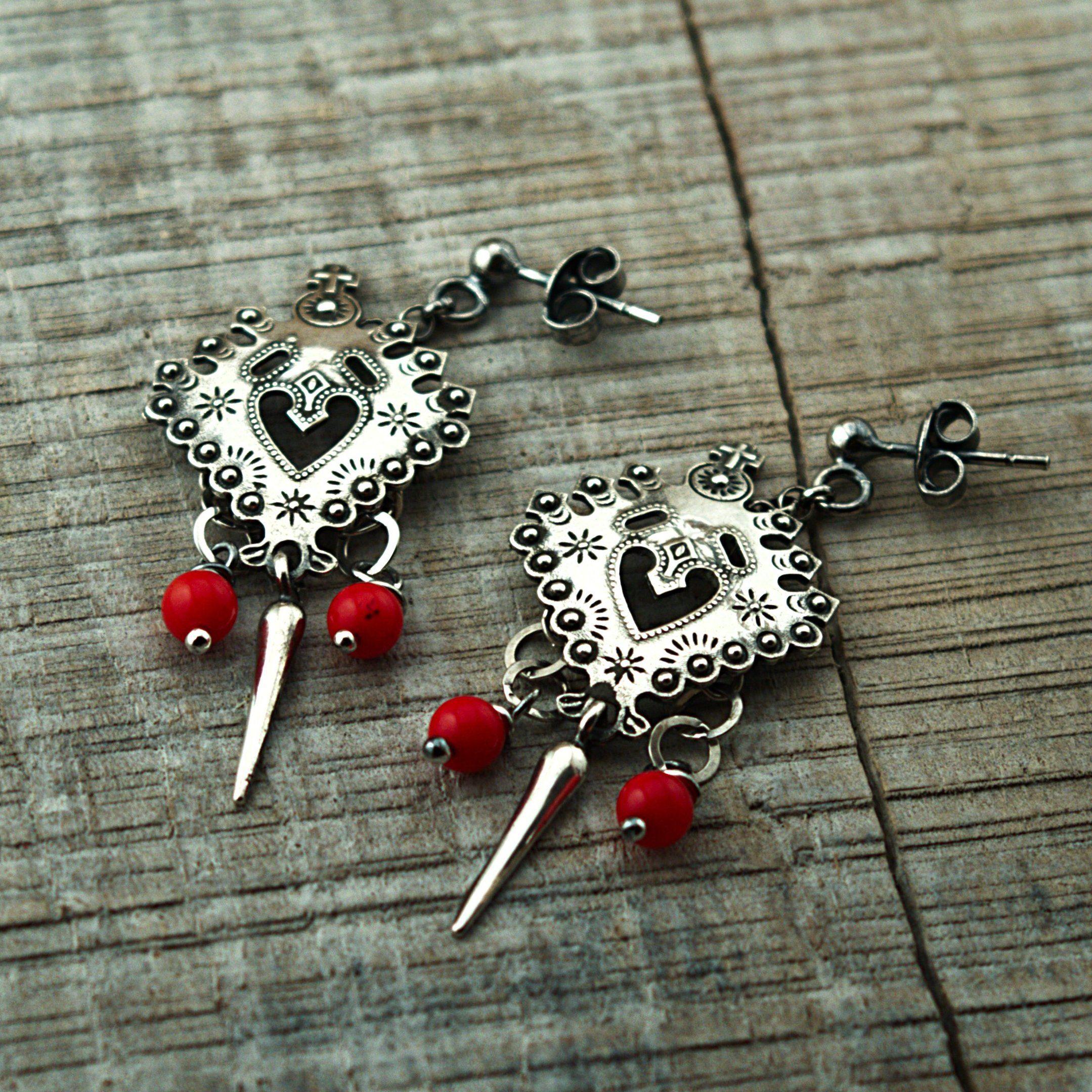 Kolczyki Parzenice Z Koralem Baziunowa Izba 4837722120 Oficjalne Archiwum Allegro Belly Button Rings Charm Bracelet Jewelry