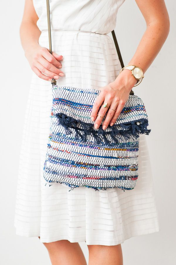 How to Make a DIY Cross Body Bag for Under $10 - Paper and Stitch
