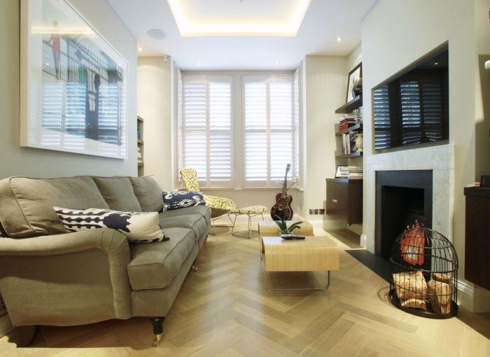 Wohnzimmer einrichten - Tipps für lange, schmale Räume ...