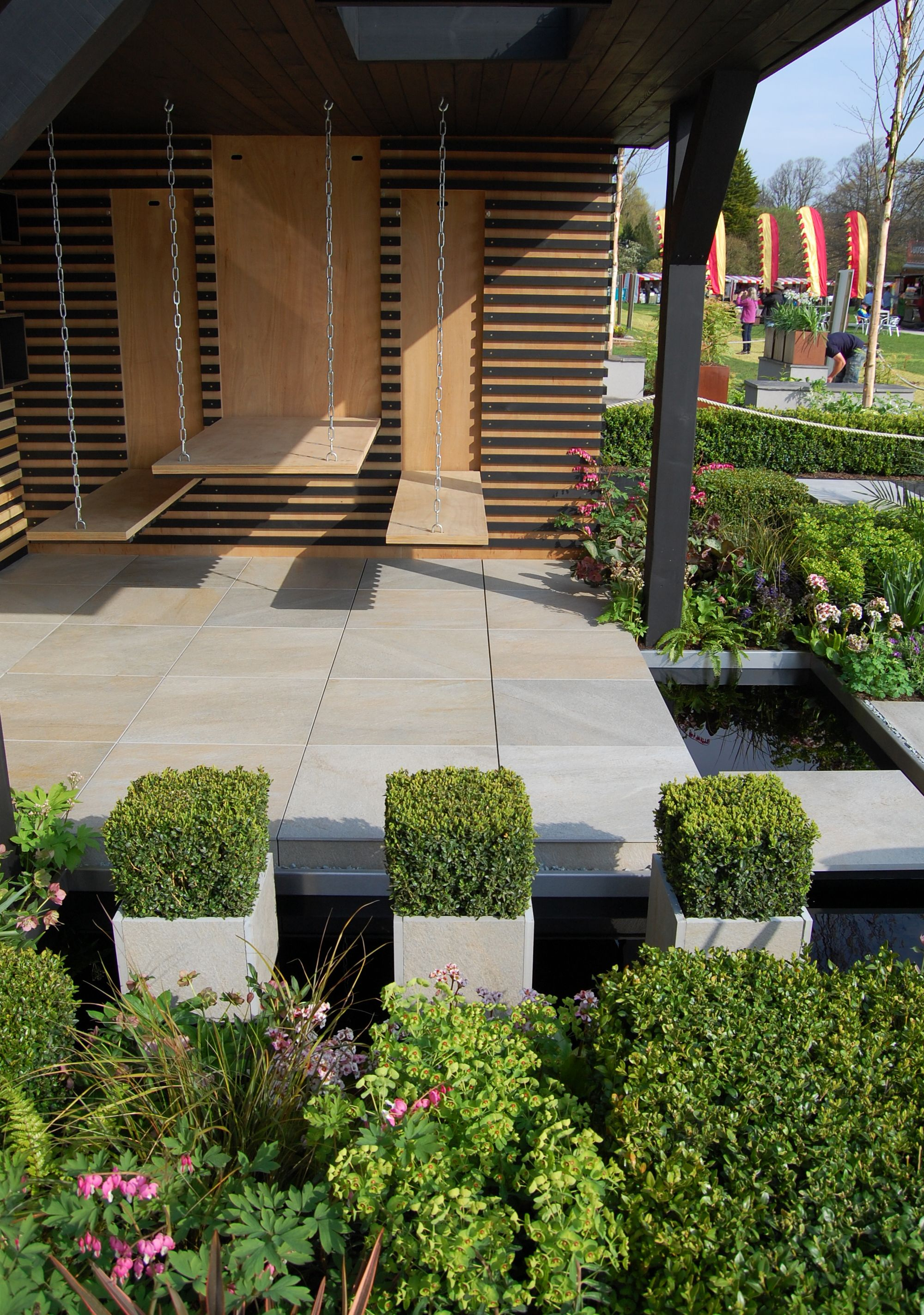 office garden design. RHS Cardiff Flower Show Garden \u0027Office Box\u0027 Designed By Robert Hughes Design Office A