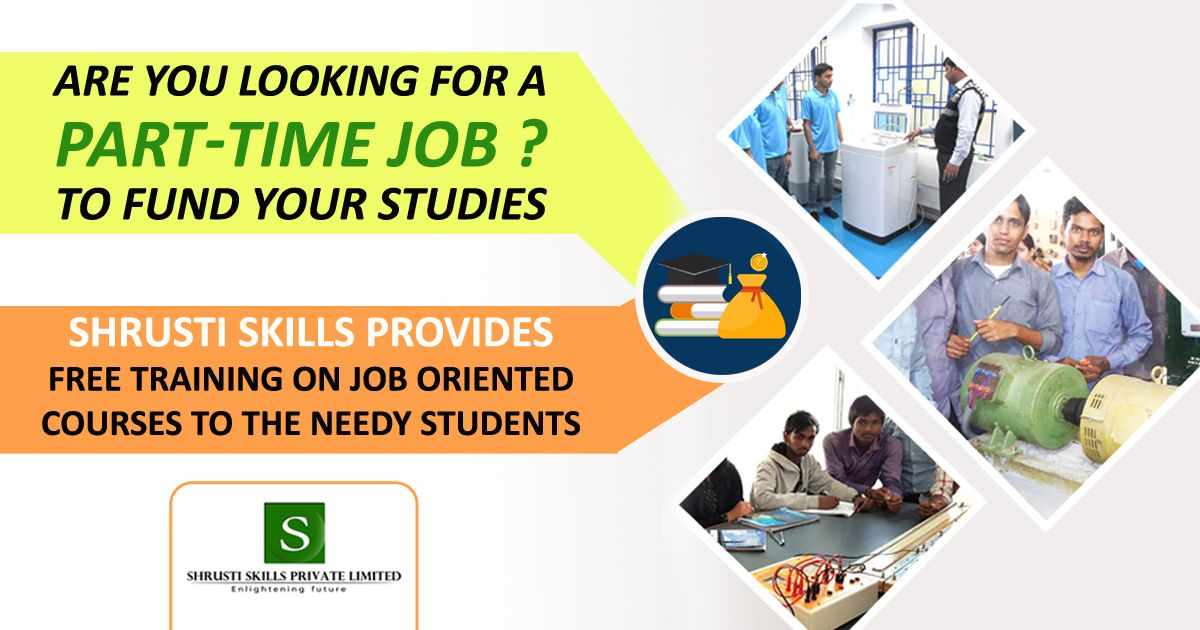 Part time jobs training in bangalore free training part