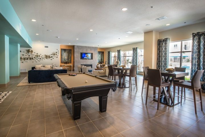 Floor And Decor Pool Tile Contemporary Basement With Soapstone Tile Floors Frisco Ii 7