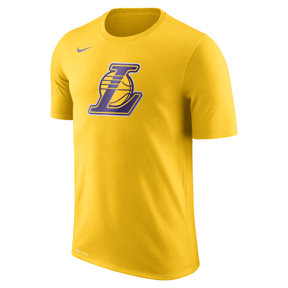 14c6b1dc Los Angeles Lakers Nike Dry Logo Men's NBA T-Shirt Size | Products ...