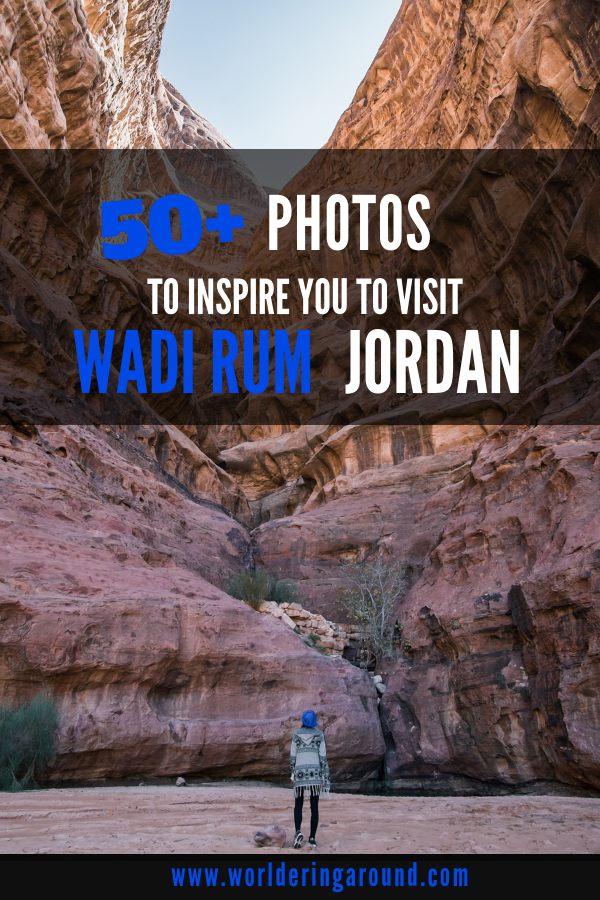 50+ Photos To Inspire You To Visit Wadi Rum Desert In Jordan #wadirum