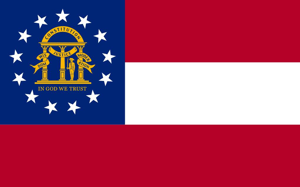 Georgia Flag Svg Georgia Png