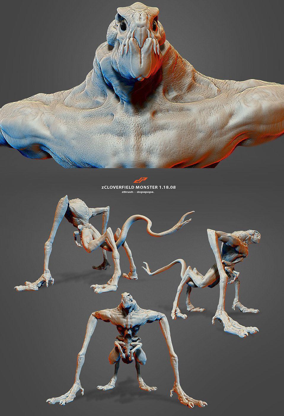Image Result For Cloverfield Monster Figure Cloverfield