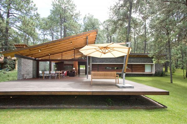 toc house modern residence 4 Quiet Forest Retreat With an Impressive Design in Mexico: Toc House