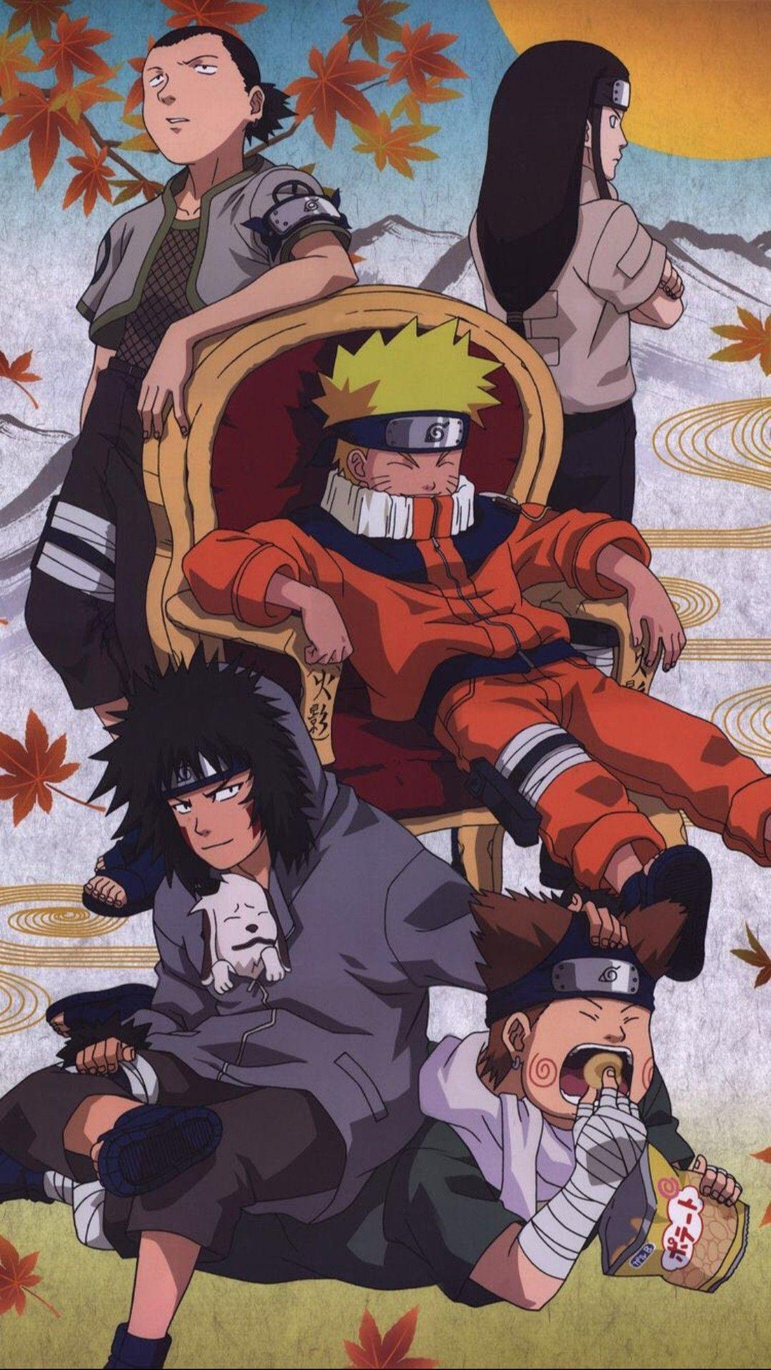 Fond D Ecran Kiba Inuzuka Choji Akimichi Naruto Uzumaki Shikamaru Nara Neji Hyuga In 2020 Shikamaru Wallpaper Anime Fan Art