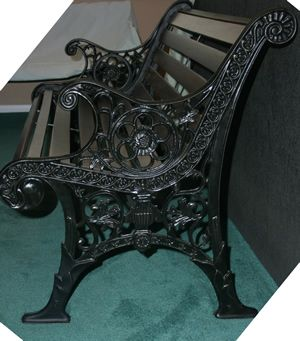 Miraculous Beautiful Antique Park Bench Refurbished Using Existing Andrewgaddart Wooden Chair Designs For Living Room Andrewgaddartcom