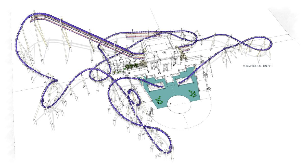 Oziris Roller Coaster In France Theme Parks Pinterest Train Diagram