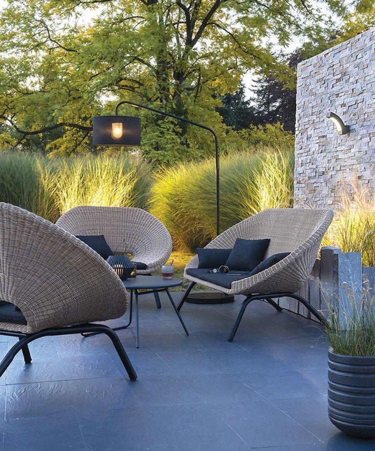 79 Incredible Modern Garden Lighting Ideas Salon De Jardin Jardin Moderne Salon De Jardin Castorama