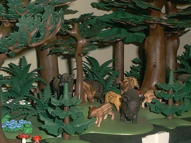 how to make diorama trees