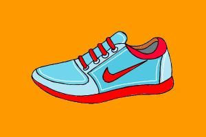 Drawings+of+Vans+Shoes | How to draw Nike shoes