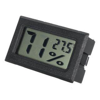 Digital LCD Indoor Thermometer Hygrometer Temperature Humidity Meter Gauge