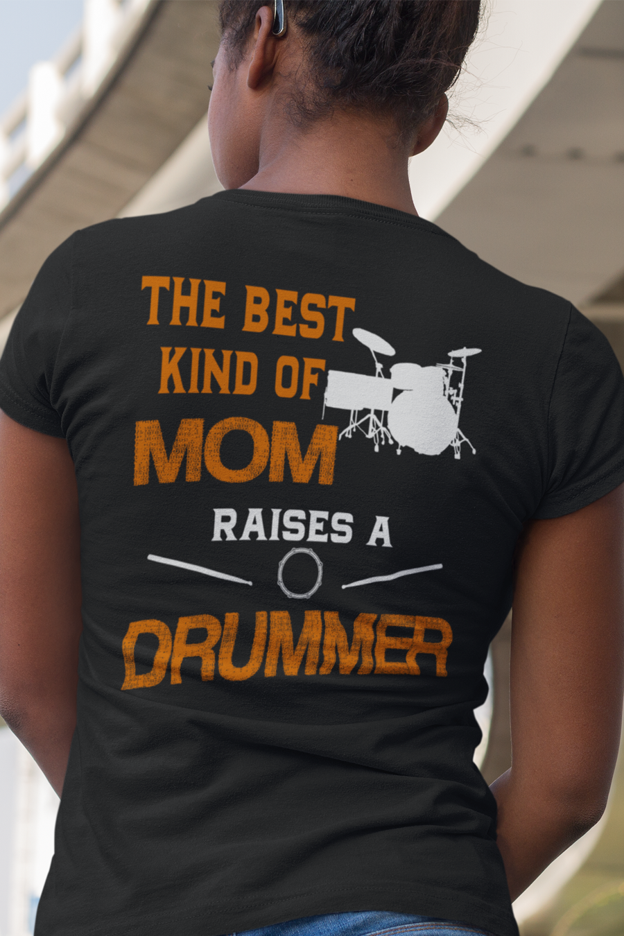 32b56cef5 Drumming Shirt - The Best Kind Of Mom Raises A Drummer. Click here for many