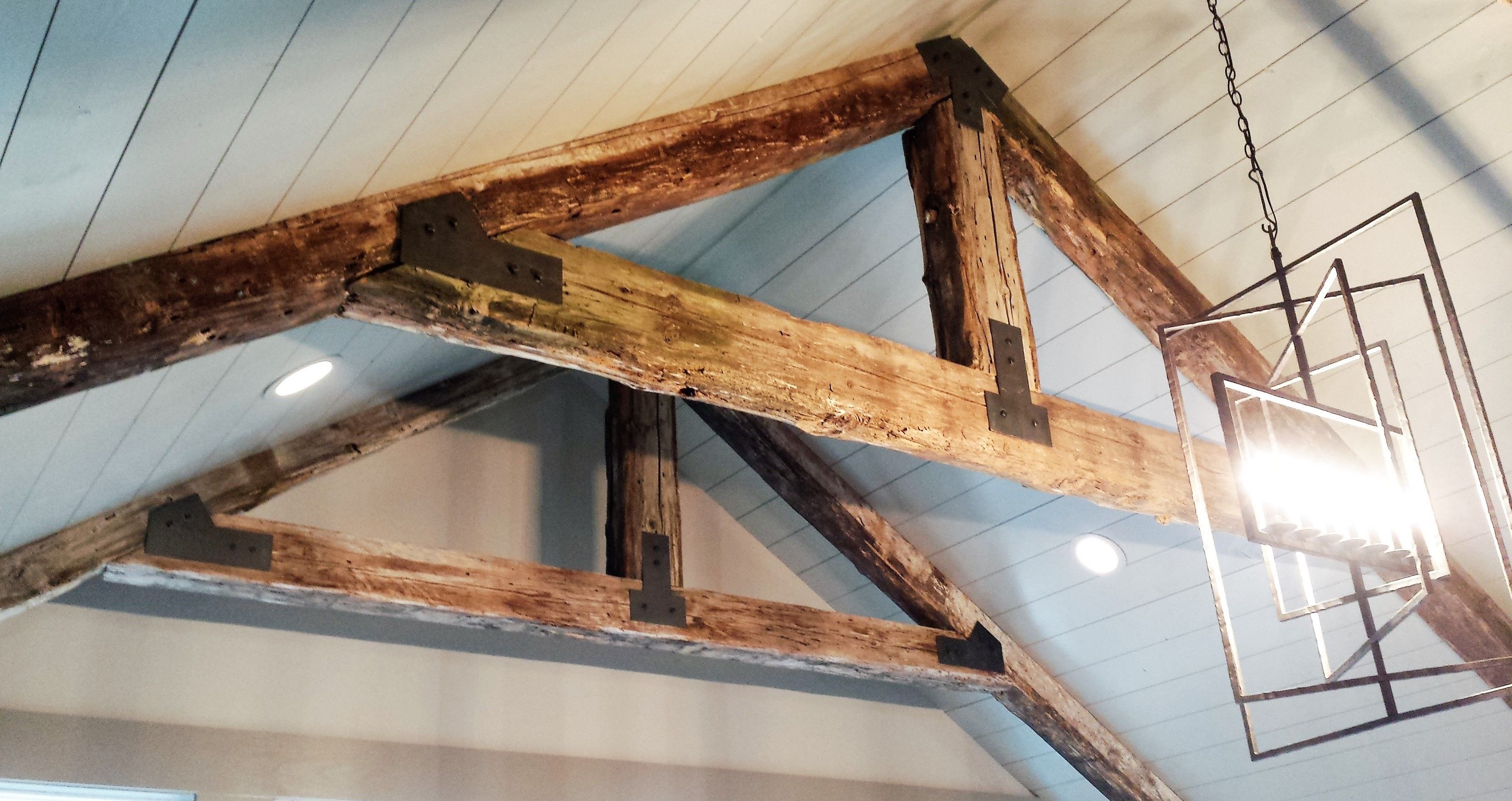 Custom Timber Beam Brackets Vaulted Ceiling Beams Timber Ceiling Wood Beams