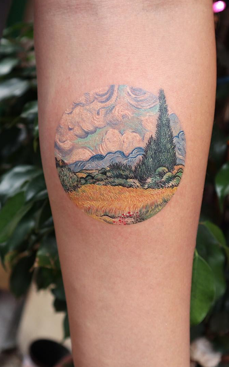 27 Tattoos Inspired By Classic Art To Wear Your Artistic Soul On Your Skin