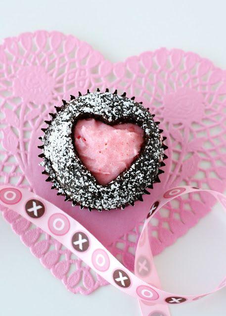 Valentine Sweet Heart Cupcakes