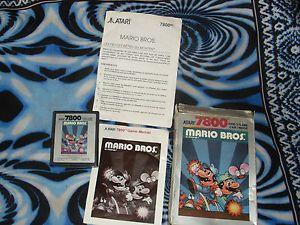 Mario Bros Atari 7800 PAL Version RARE Complete   eBay