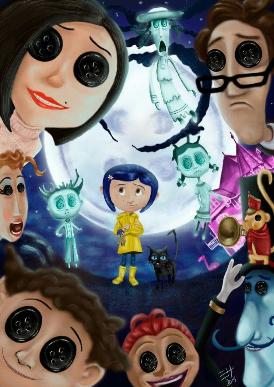 Pin by Xes Zki on Movies & TV | Coraline, Coraline tattoo