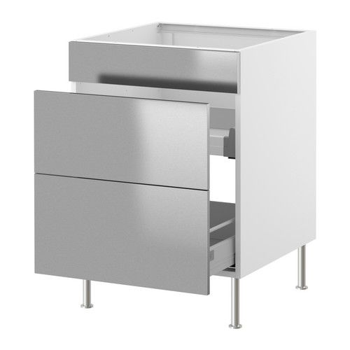 faktum lement vier avec tiroirs 2 faces ikea amortisseurs int gr s pour une fermeture des. Black Bedroom Furniture Sets. Home Design Ideas