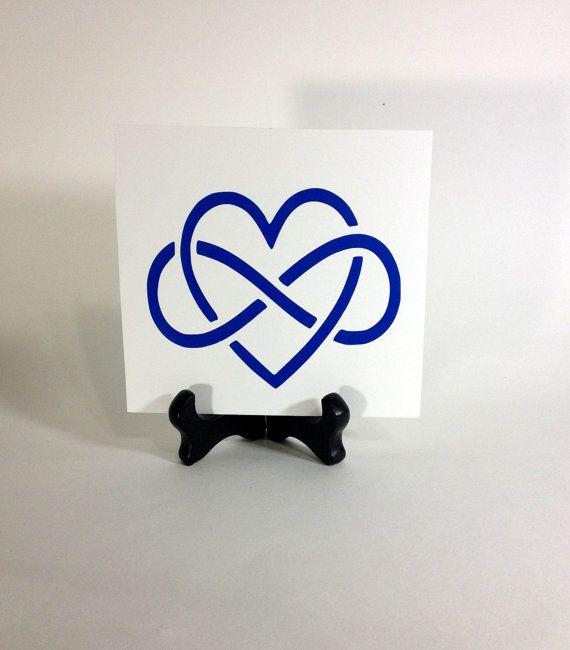 Inifinity Heart Eternity Symbol Interlocking Inifinity Heart 50