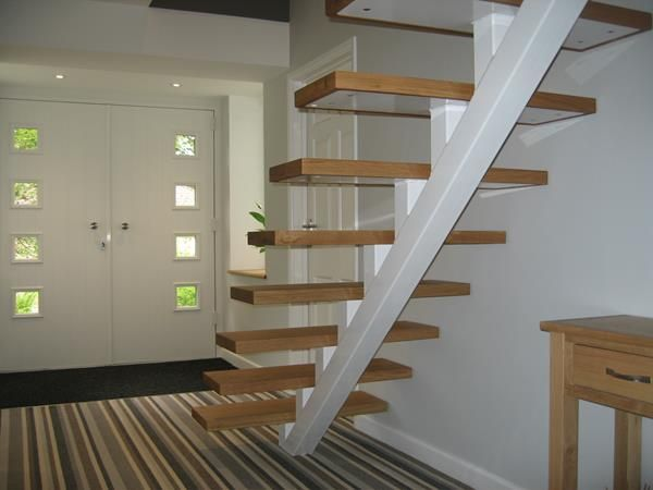 Stairs – Timber & Glass