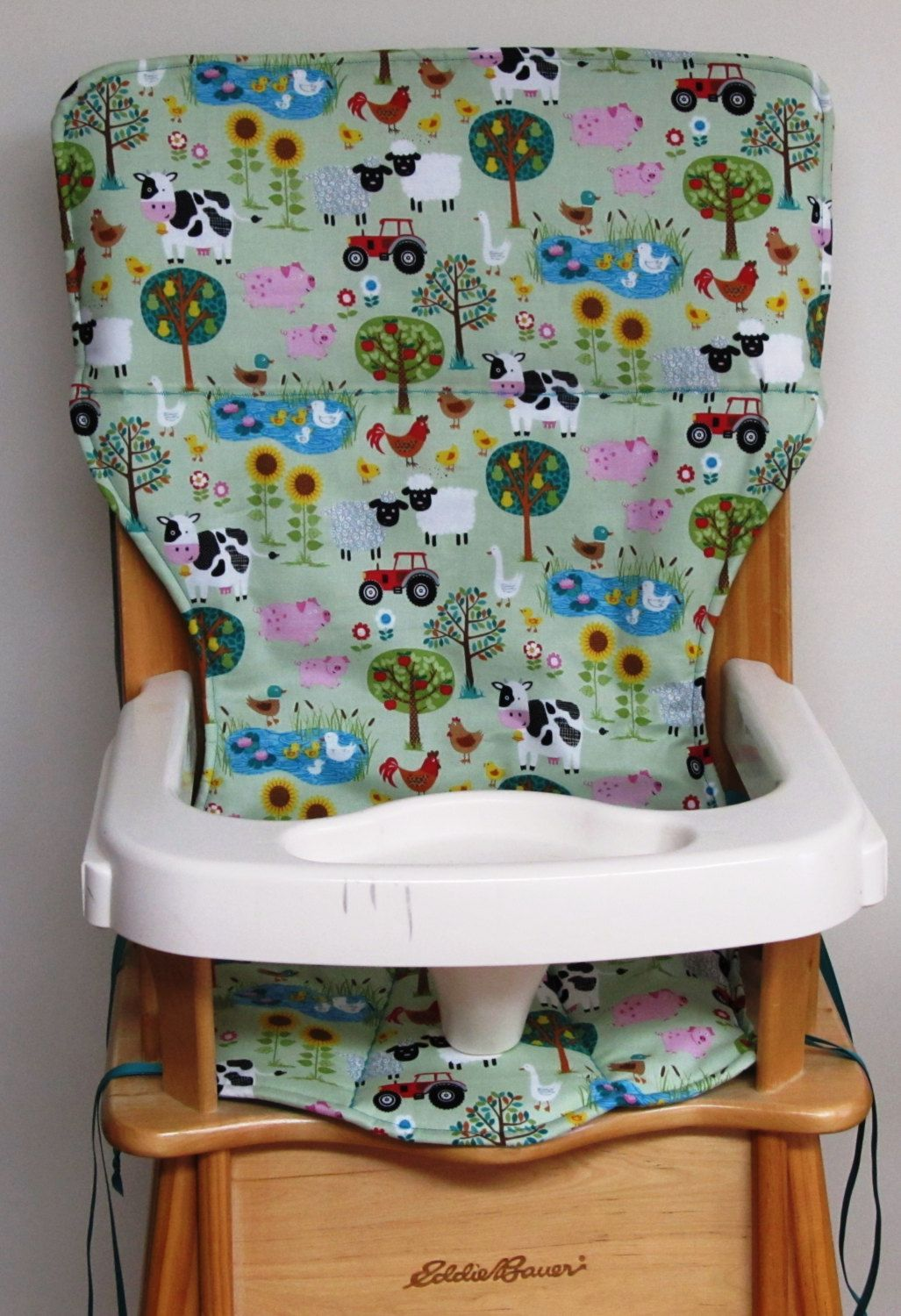 Baby High Chair Cover Eddie Bauer Wooden High Chair Pad Replacement Cover