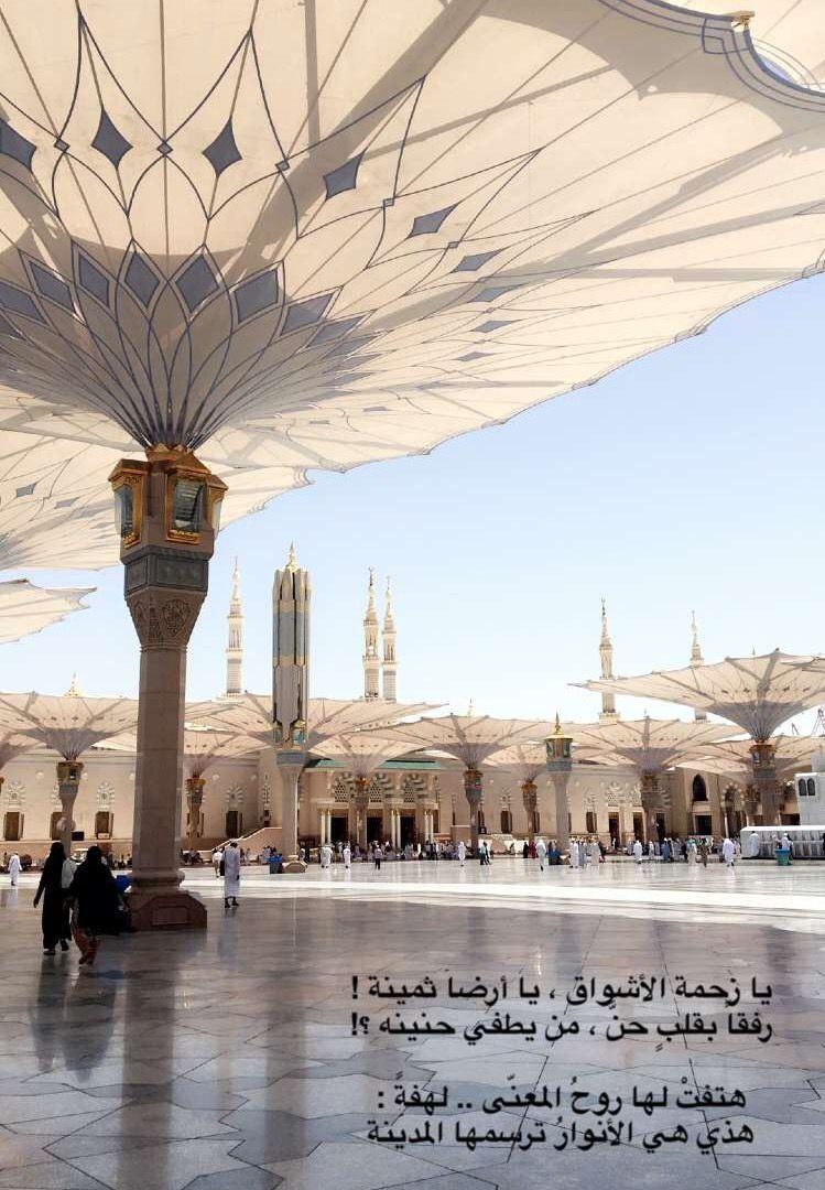 يالهفة المشتاق لأرض المدينة أرض المصطفى والصحب الطيبين Arabic Quotes Taj Mahal Greatful