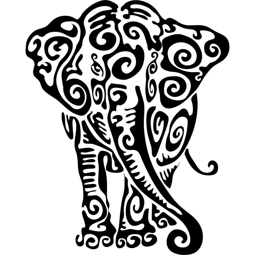 Resultado de imagen para vinilos decorativos elefantes | идеи ...