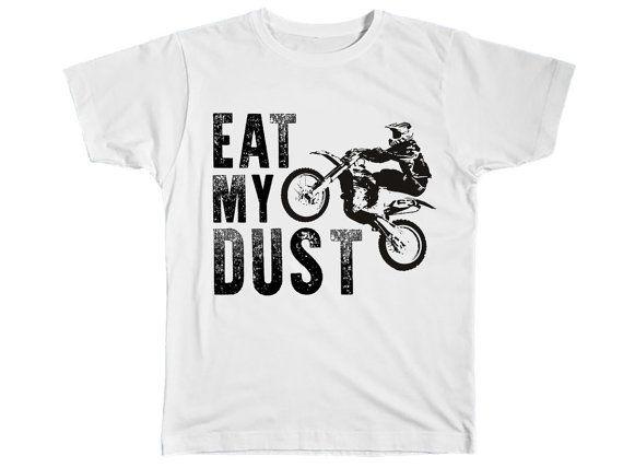 ae97d573ffe51 Boys Clothing Kids Fashion Dirt Bike Shirt Funny Motocross MX Baby ...
