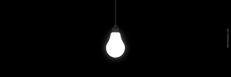 Light Bulb Twitter Header Cover Light Bulb Bulb Light