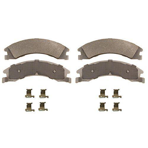 Wagner Thermoquiet Mx1329 Semi Metallic Disc Pad Set With Installation Hardware Rear Brake Pads Ceramic Brake Pads Wagner