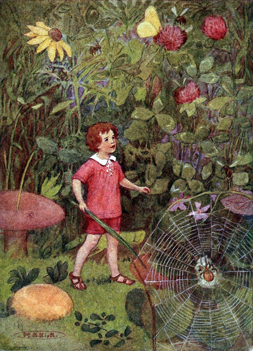 "The Little Land. From Stevenson\'s ""A Child\'s Garden of Verses ..."