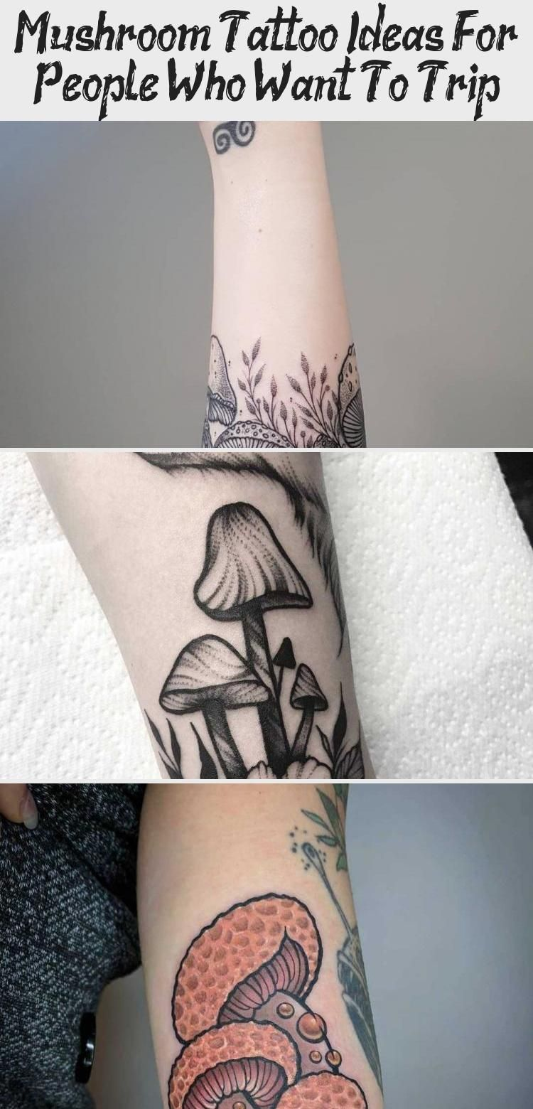 Photo of Mushroom Tattoo Ideas For People Who Want To Trip – Tattoos